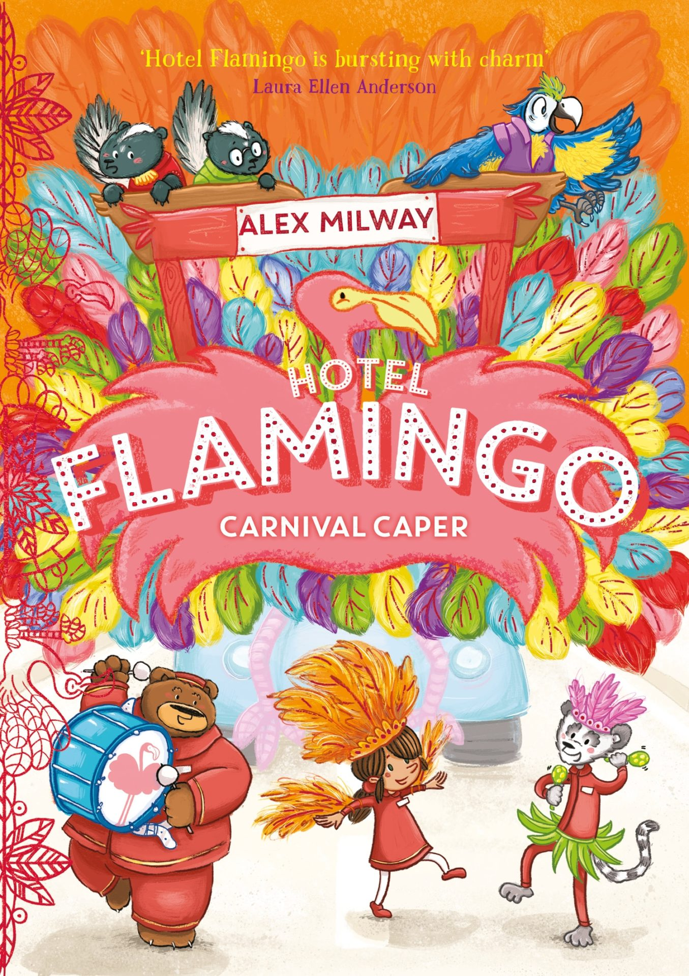 Hotel Flamingo: Carnival Caper by Alex Milway | 9781848128071