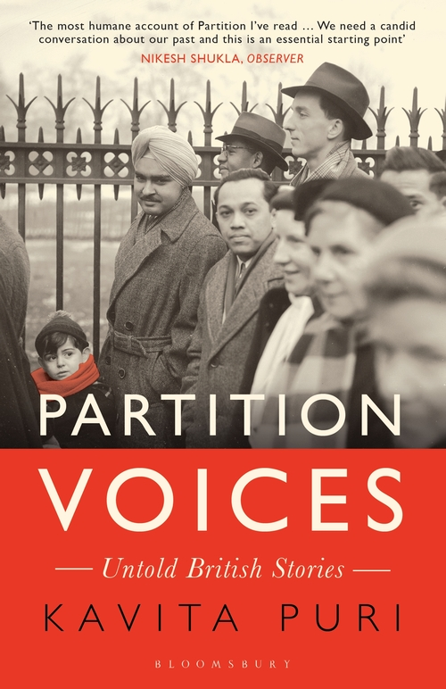 Partition Voices: Untold British Stories by Kavita Puri | 9781408898987