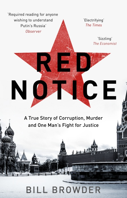Red Notice by Bill Browder | 9780552170321