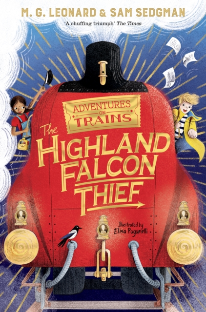The Highland Falcon Thief by M. G. Leonard and Sam Sedgman, Elisa Paganelli | 9781529013061