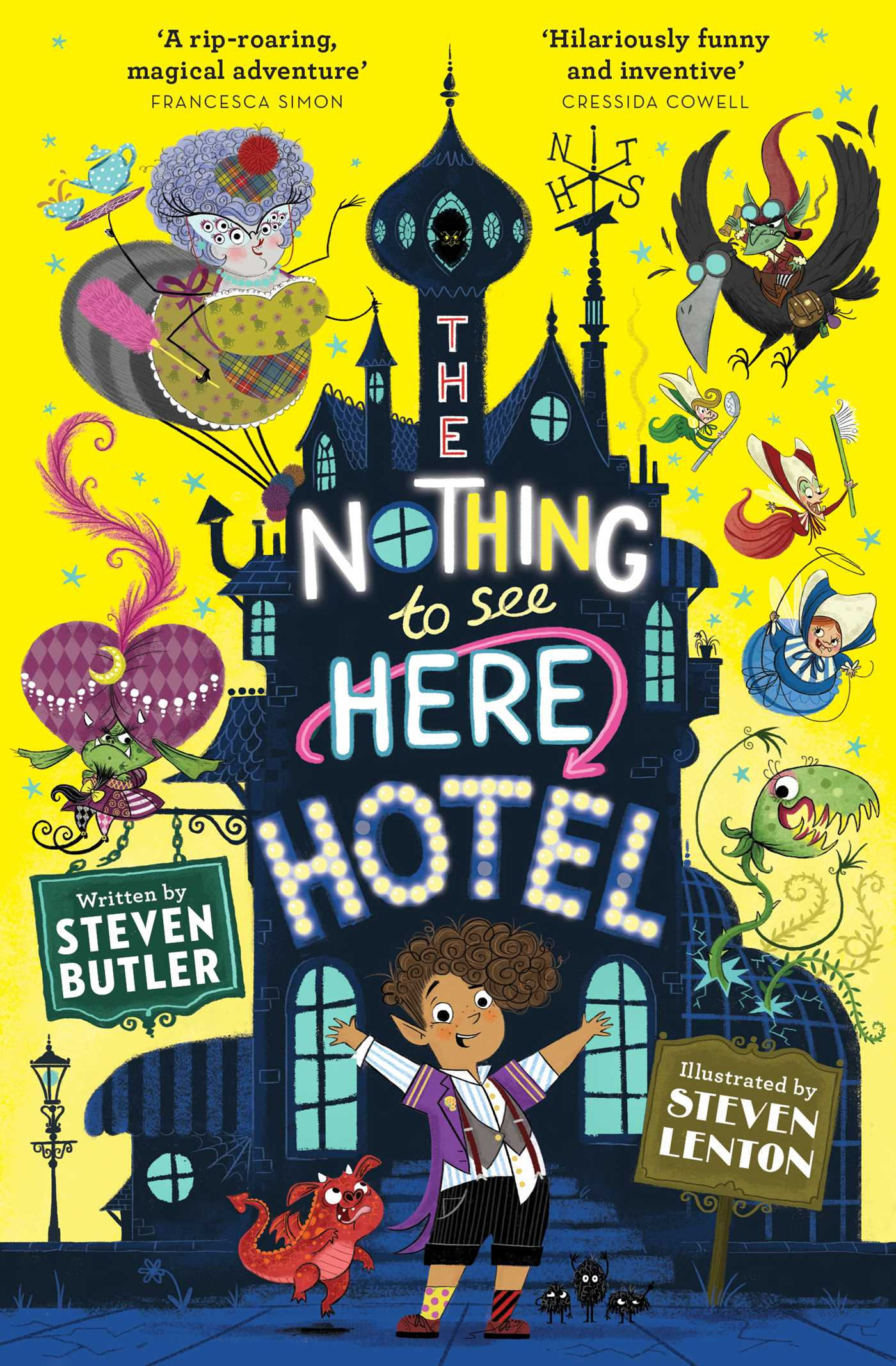 The Nothing to See Here Hotel by Steven Butler, Steven Lenton | 9781471163838