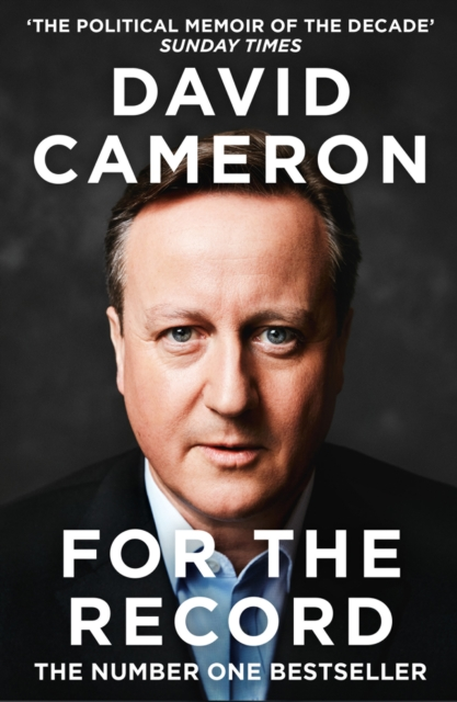 For the Record by David Cameron | 9780008239329