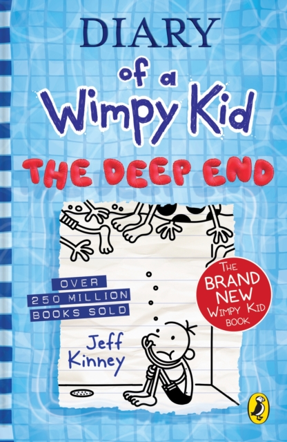 Diary of a Wimpy Kid: The Deep End by Jeff Kinney | 9780241396643