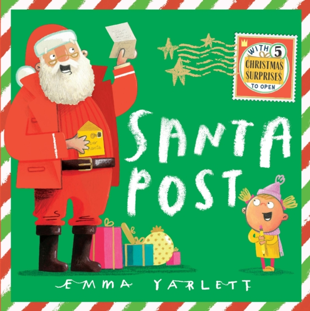 Santa Post by Emma Yarlett | 9781406392197
