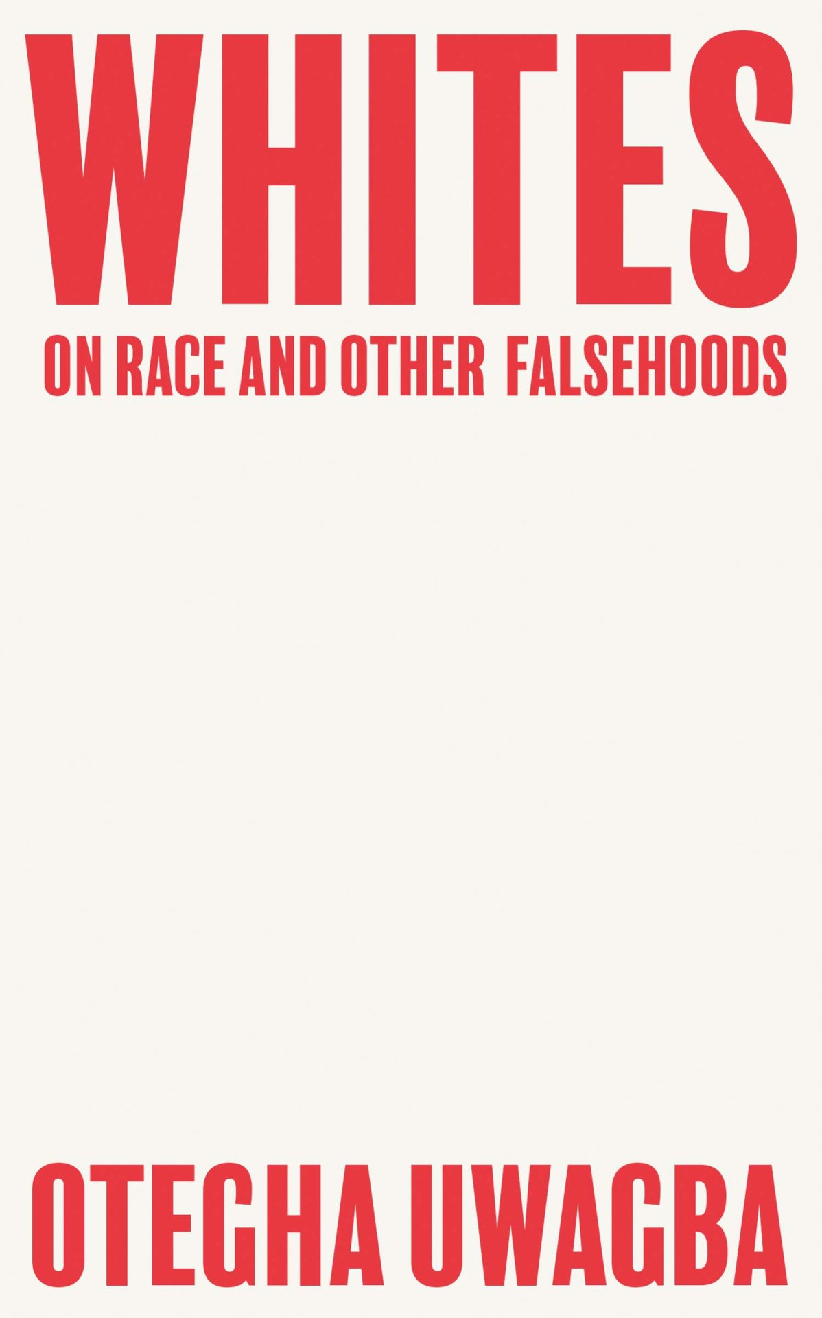 Whites by Otegha Uwagba | 9780008440428