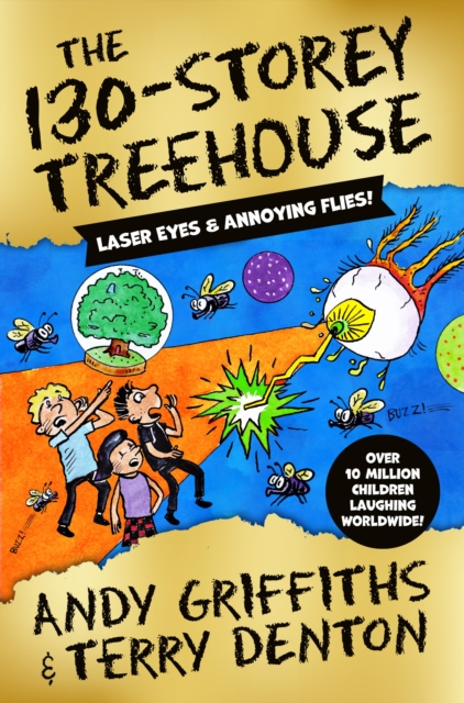 The 130-Storey Treehouse by Andy Griffiths, Terry Denton