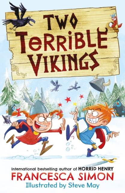 Two Terrible Vikings by Francesca Simon, Steve May | 9780571349494