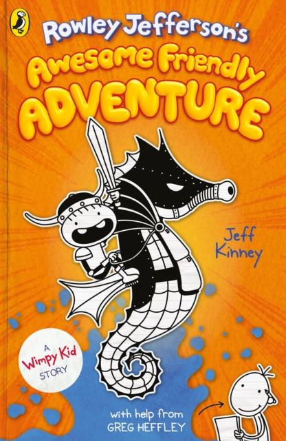 Rowley Jefferson's Awesome Friendly Adventure by Jeff Kinney | 9780241458839