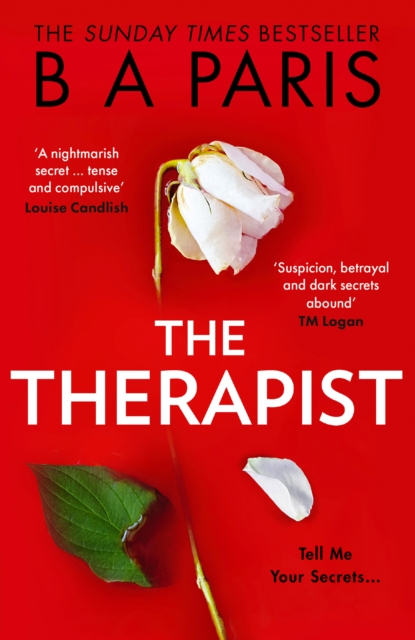 The Therapist by B A Paris | 9780008412043