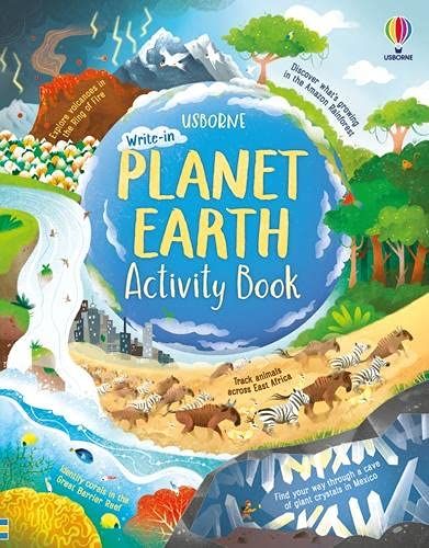 Planet Earth Activity Book by Lizzie Cope & Sam Baer | 9781474986298