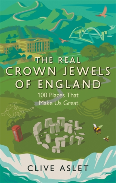 The Real Crown Jewels of England by Clive Aslet   9781472133748