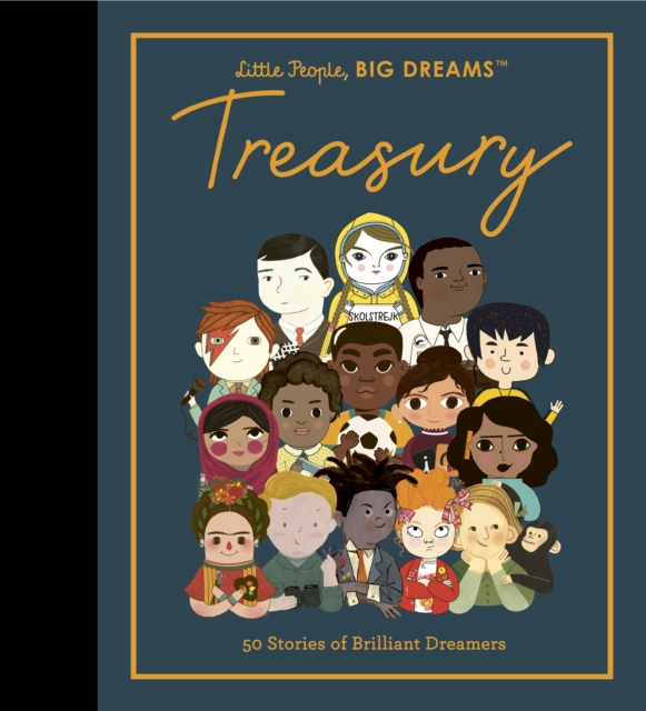 Little People, BIG DREAMS Treasury by Maria Isabel Sanchez Vegara and Lisbeth Kaiser | 9780711264168