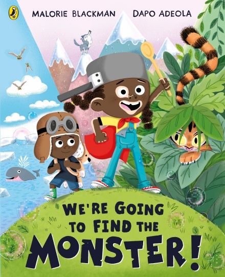 We're Going to Find the Monster by Malorie Blackman, Dapo Adeola | 9780241401309